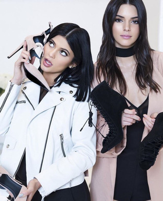 jacket kylie jenner coat kendall and kylie jenner kendall jenner pumps black dress