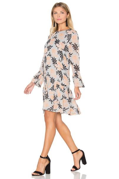 Ganni dress shift dress ruffle