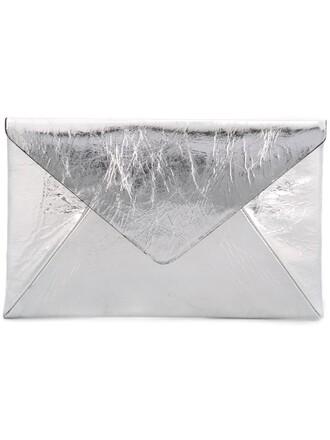 clutch metallic bag