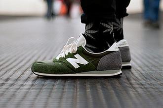 jumpsuit green grey new balance new balance cc new balance 420 black pants