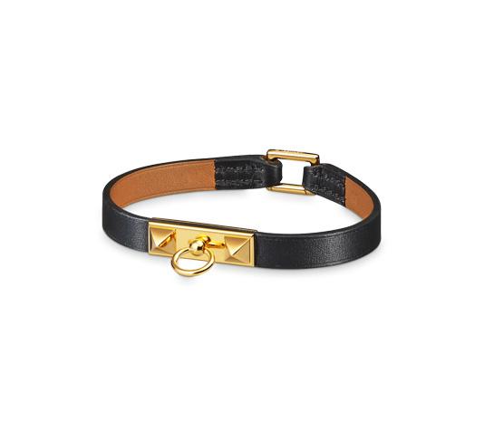 0c1c882d99a Bijoux En Cuir Hermès Noir - Bracelets - Bijoux   Montres