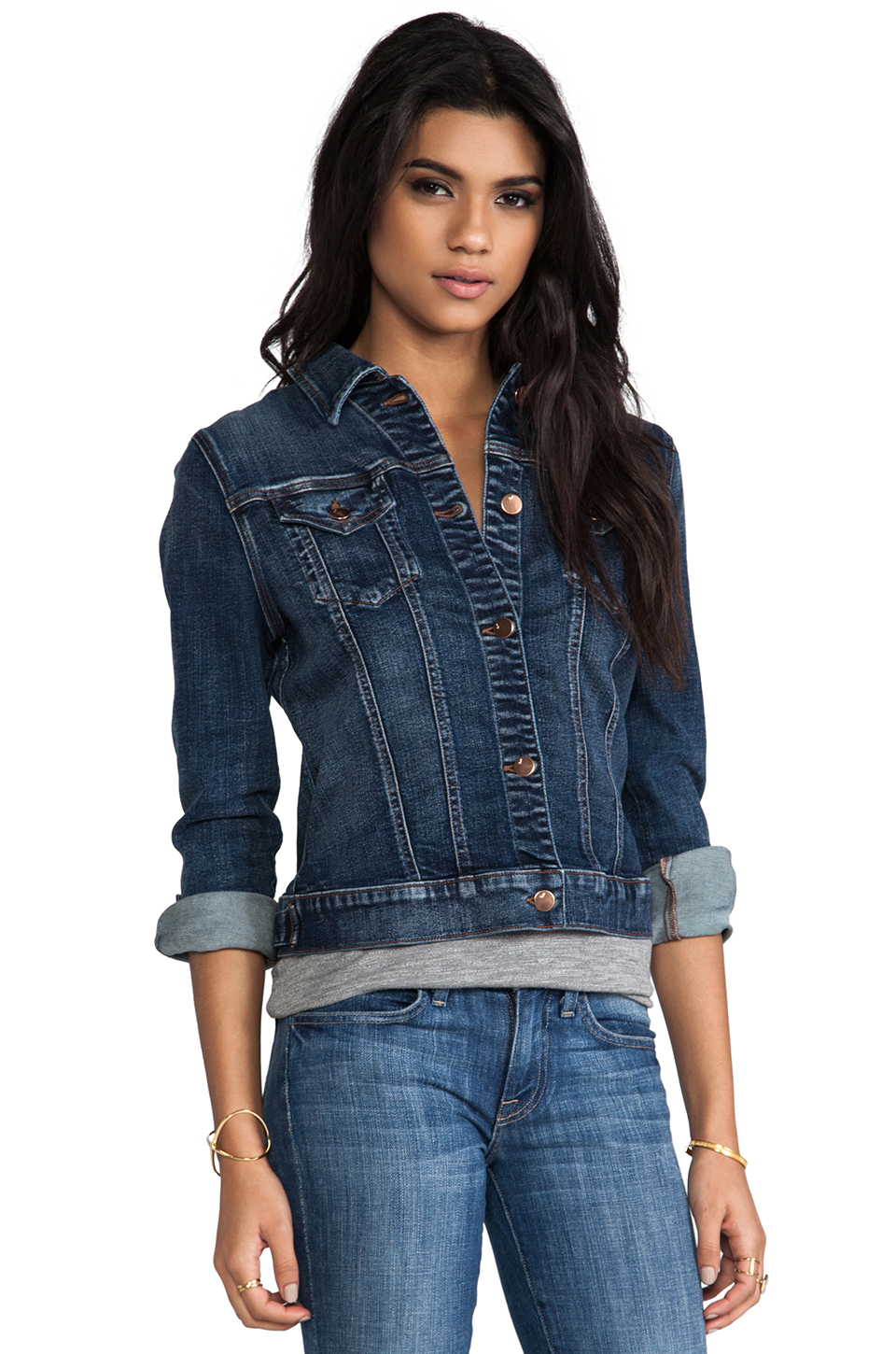 J Brand Distress Jacket in Devotion from REVOLVEclothing.com