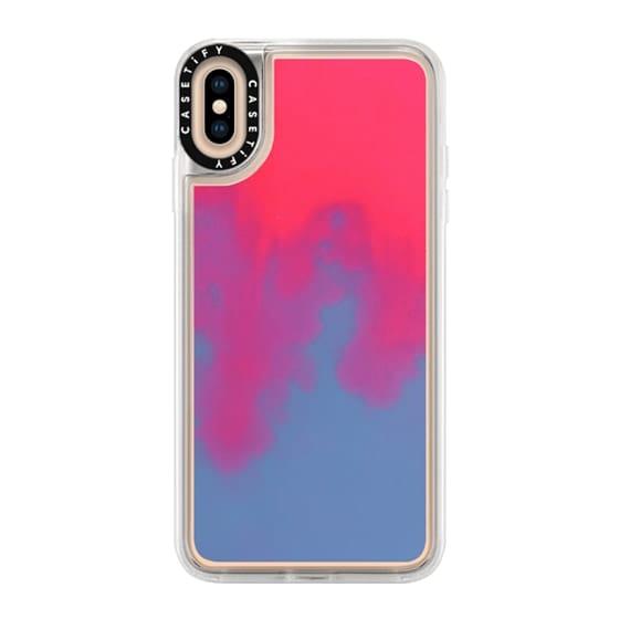 CASETiFY iPhone XS Max Case - Neon Sand Liquid Case