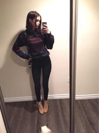 sweater acacia brinley style fashion fall outfits fall sweater autumn/winter hipster grunge indie punk printed sweater cute tumblr tumblr outfit tumblr girl tumblr clothes tumblr shirt tumblr sweater