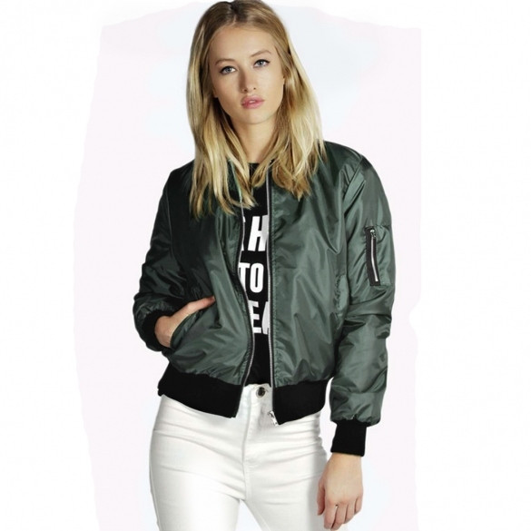 Padded Bomber Jacket – Outfit Made