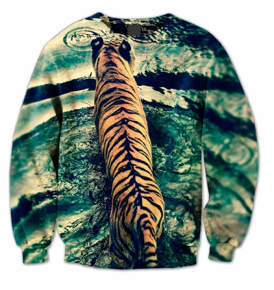 Pre Order Tiger Sweater — Fly Federation