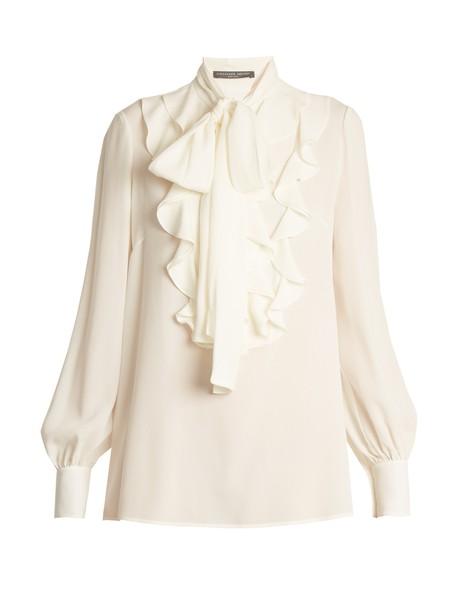 Alexander Mcqueen blouse silk top