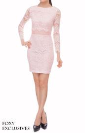 women,lace dress,shift dress,sheer,mesh,feminine,baby pink,dress