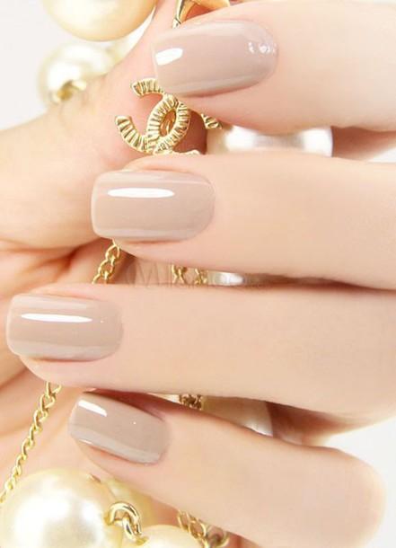 Nail Polish Nude Hands Beautiful Nails Chanel