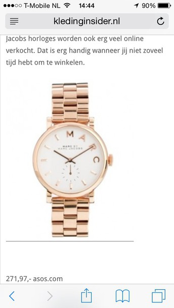 jewels gold white marc jacobs