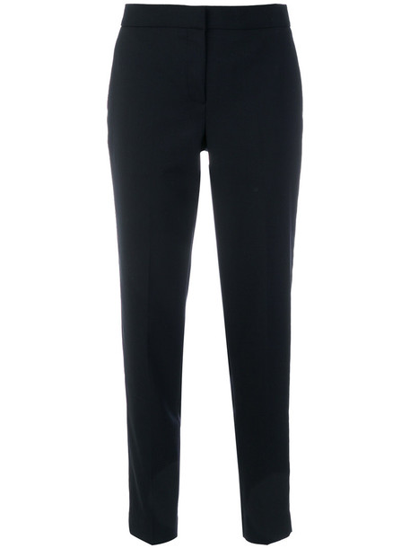 Paul Smith women fit blue wool pants
