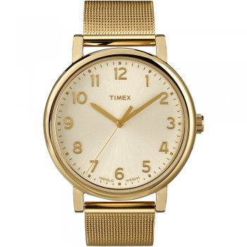Timex Men's Gold Tone Easy Reader Watch T2N598 - Timex from British Watch Company UK