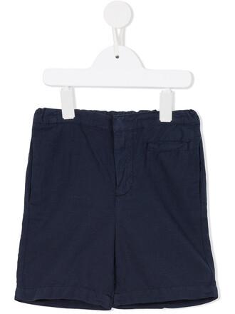shorts girl toddler blue