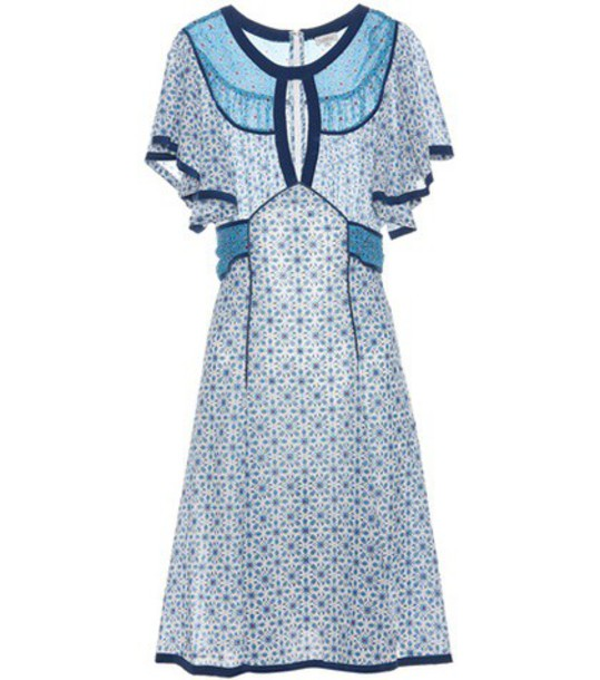 Talitha dress silk dress silk white