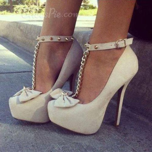 shoes shoespie heels jewelry boho bohemian grunge vintage hiptser cute summer sneakers platform shoes brown summer outfits vogue chanel hair bracelets gold tumblr bow heels high heels tumblr outfit