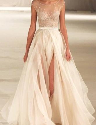 white dress prom dress wedding dress sparkling glitter white dress