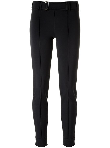 Gloria Coelho leggings women spandex black pants