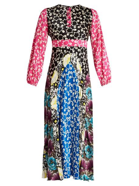 Duro Olowu dress silk dress silk