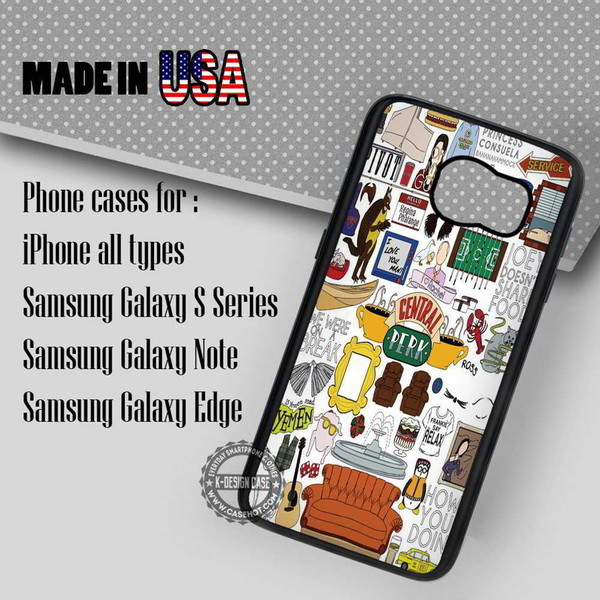 phone cover friends tv series