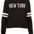 New York Long Sleeve Sweat - Jersey Tops  - Clothing  - Topshop