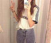 top,adidas,adidas women,adidas white,white,black,black and white,white & black,tank top,phone cover,cover,sad,iphone 6 case,shirt,jeans