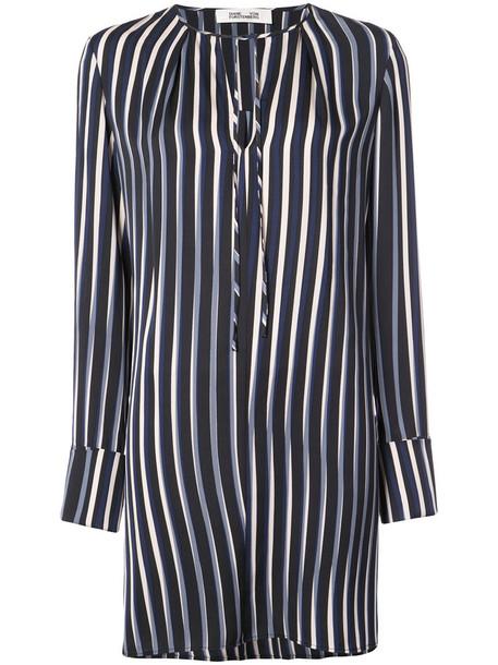 Dvf Diane Von Furstenberg dress shift dress women black silk