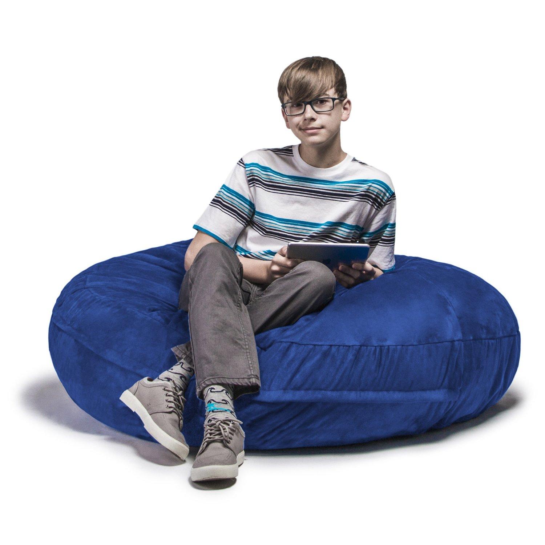 com jaxx bean bags cocoon junior kids bean bag 4 feet
