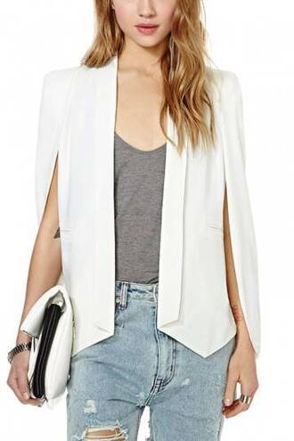 coat cape blazer