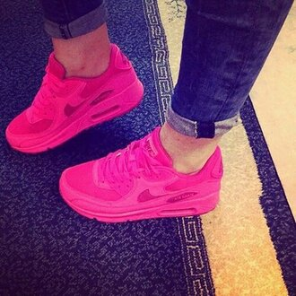 shoes nike pink fashion cute jeans
