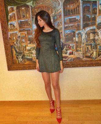 dress kenza summer summer dress winter dress short dress tight dresses grey dress