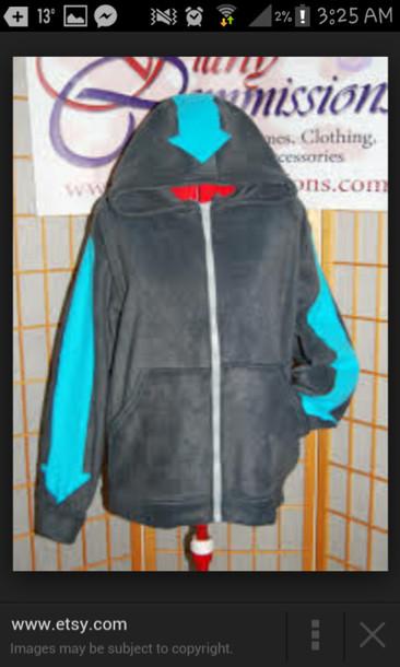 Jacket Avatar The Last Airbender Blue Arrow Arrow Airbender Jacket Aang Airbender Tattoos Legend Of Korra Wheretoget