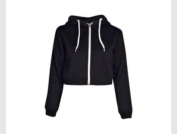 black sweater crop top crop top sweater hood hoodie black hoodie white crop tops hoodie coat hoodie shirt