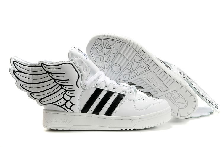 sports shoes d2fa0 c568d Adidas Jeremy Scott White Wings