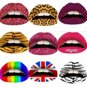 nail polish,lips,lip tattoos,lipstick,leopard print,glitter,pink sunglasses,tiger,tiger print,rainbow,union jack,checkered,purple,posh'd boutique,nicki minaj,streetstyle,make-up,cosmetics