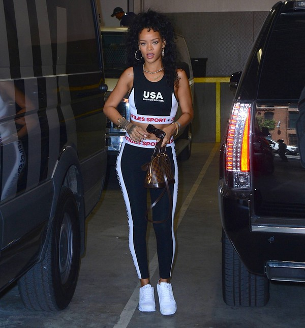 top rihanna leggings sneakers shoes