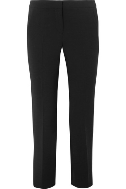 Max Mara pants cropped black wool