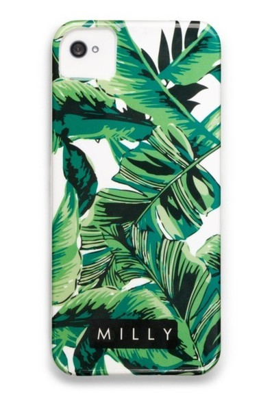 jewels iphone iphone cover cover case plant plants plant print tumblr milly cute