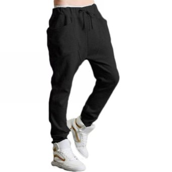 Amazon.com: Magiftbox Men's Harem Sport Training Pants -M-Black: Clothing