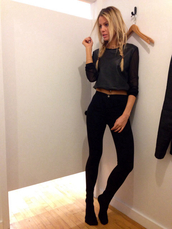 jeans,shirt,black,navy,blue,skinny jeans,high waisted jeans,t-shirt,top,jumper,leather,pants,sweater,grey