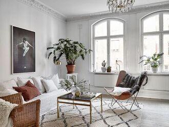 home accessory sofa rug tumblr home decor living room table chair plants pillow