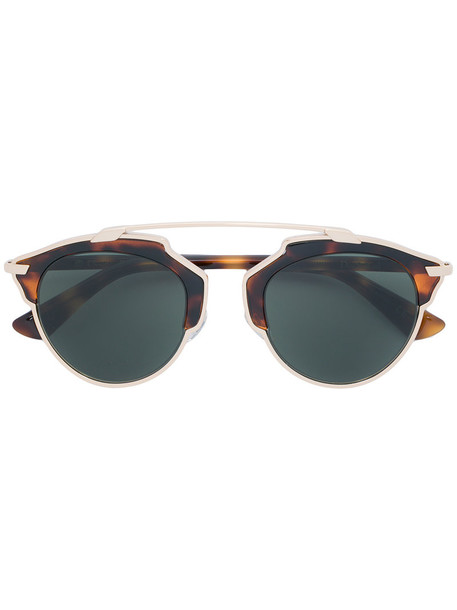 Dior Eyewear - So Real sunglasses - women - Acetate/Metal (Other) - One Size, Brown, Acetate/Metal (Other)