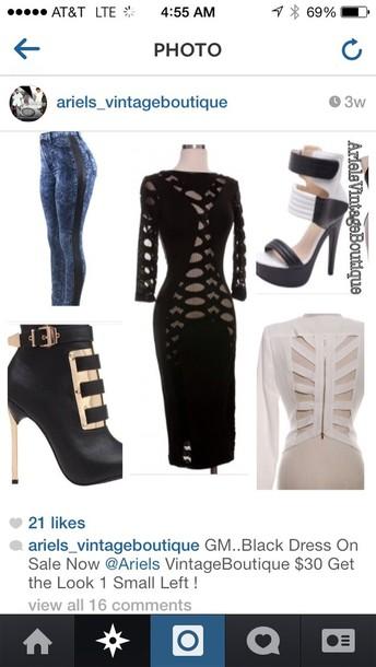 dress bodycon little black dress