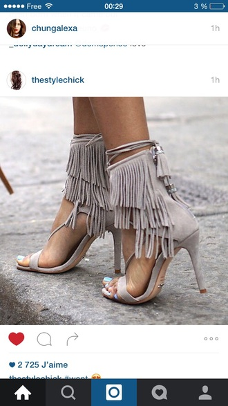 shoes fringes trendy fall outfits amazing