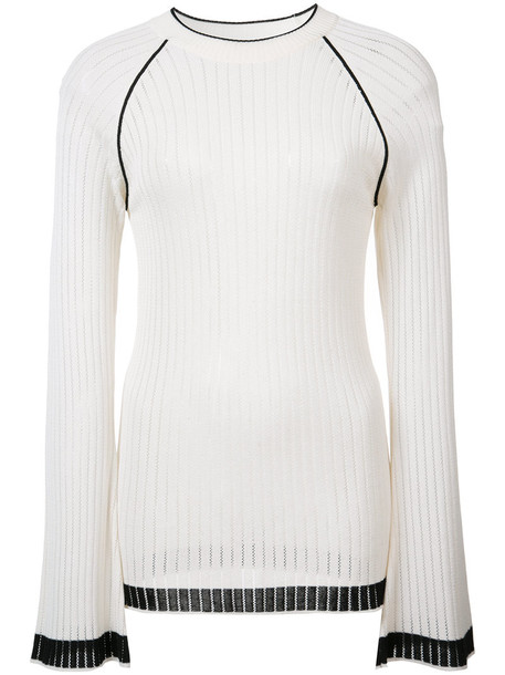 Misha Nonoo - Sylvia top - women - Cotton/Viscose - S, White, Cotton/Viscose