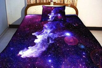 earphones bedding sheet galaxy bed set galaxy print