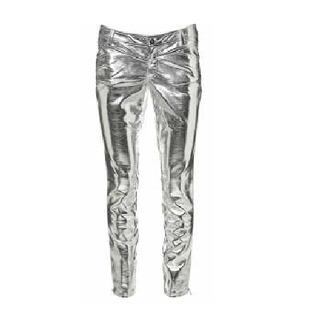 pants smashing pumpkins billy corgan silver metallic silver pants bright light