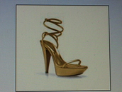 high heels,straps,yellow shoes,shoes