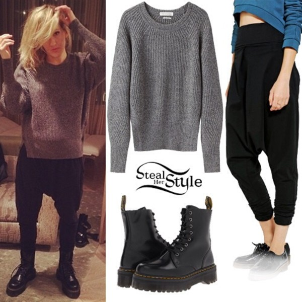 sweater ellie goulding pants