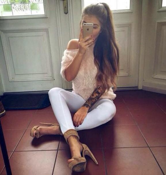 t-shirt pants shoes