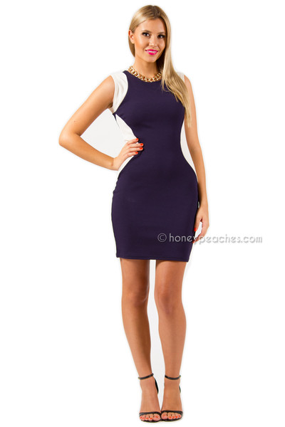 Stepping it up body con dress